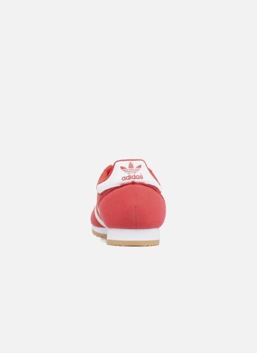 Sneaker adidas originals Dragon Og rot ansicht von rechts