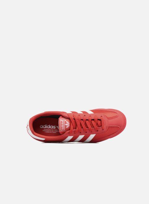 Sneaker adidas originals Dragon Og rot ansicht von links