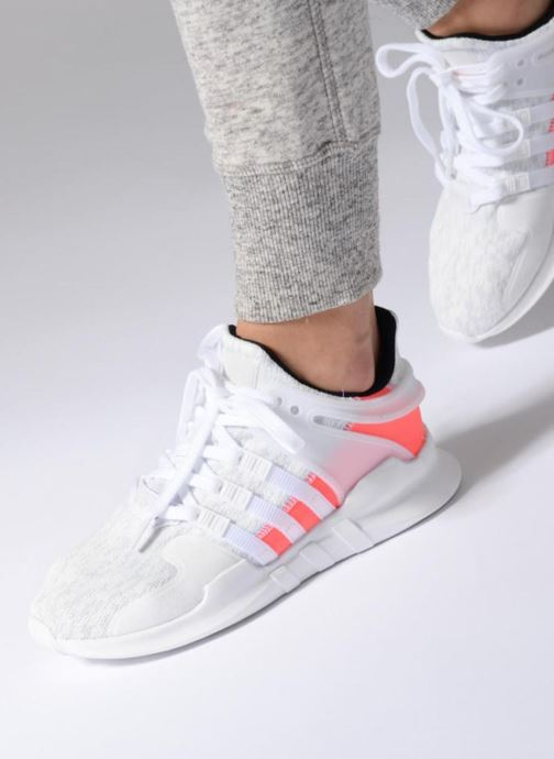 Sneakers adidas originals Eqt Support Adv W Bianco immagine dal basso