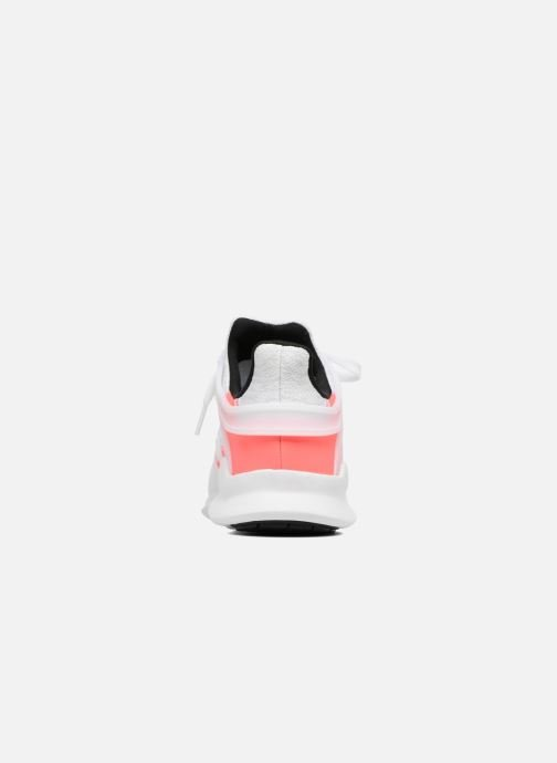 Deportivas adidas originals Eqt Support Adv W Blanco vista lateral derecha