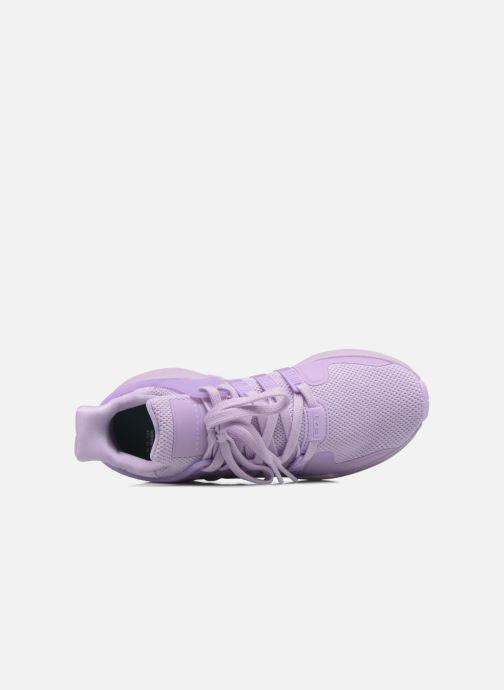 Baskets adidas originals Eqt Support Adv W Violet vue gauche