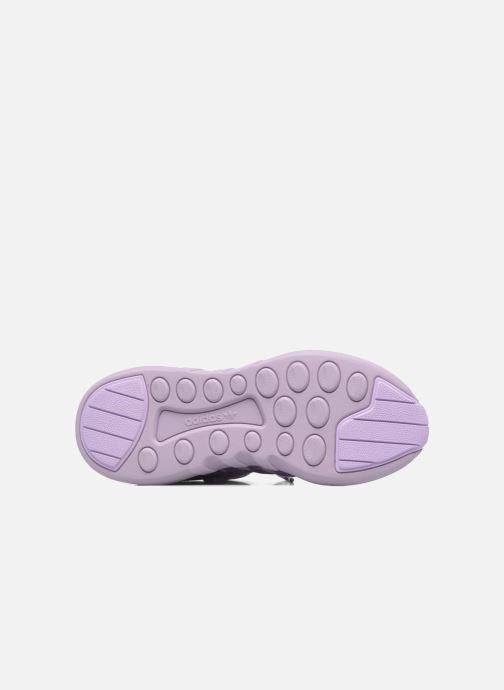Baskets adidas originals Eqt Support Adv W Violet vue haut