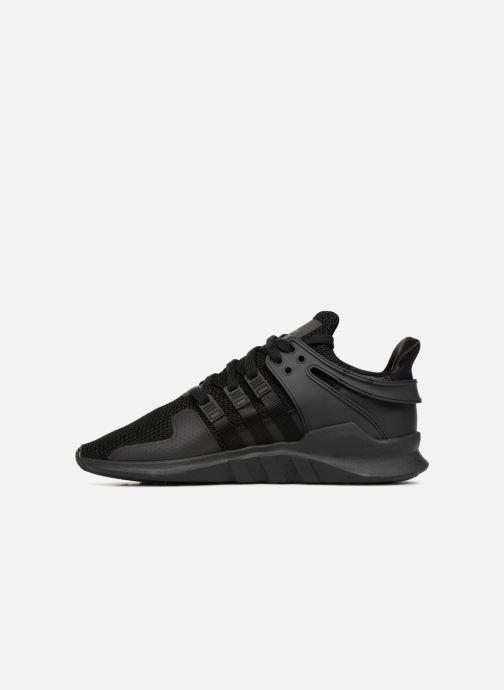 Sneakers adidas originals Eqt Support Adv Zwart voorkant