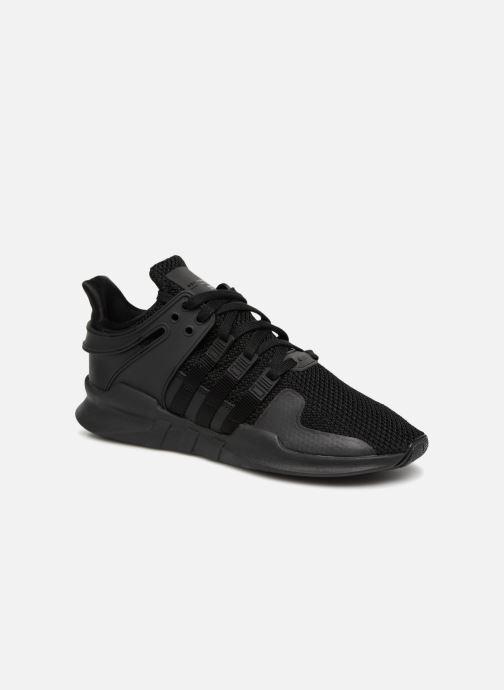 separation shoes a3fec 57b10 Baskets Adidas Originals Eqt Support Adv Noir vue détailpaire