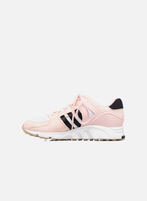 separation shoes a543e 58e7f Baskets adidas originals Eqt Support Rf W Rose vue face