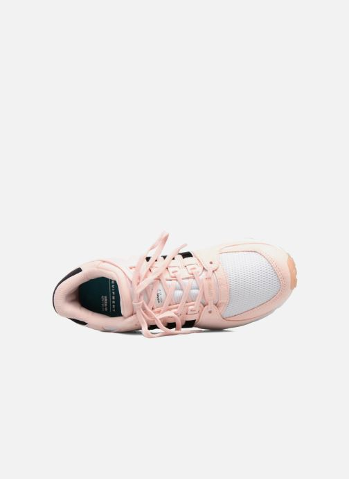 Trainers adidas originals Eqt Support Rf W Pink view from the left