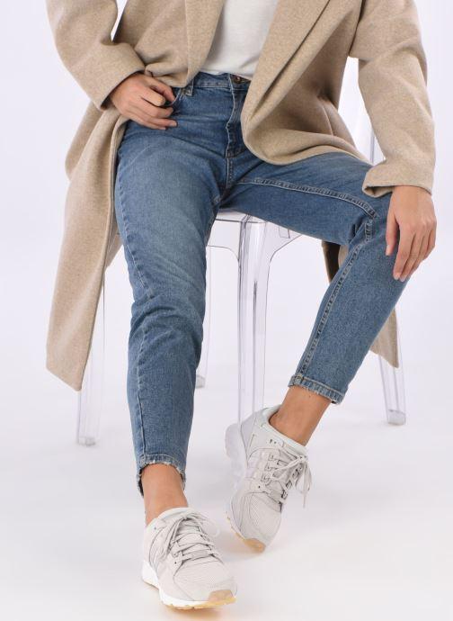 Sneaker adidas originals Eqt Support Rf W grau ansicht von unten / tasche getragen