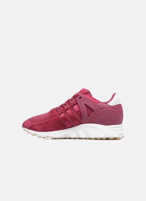 Sneakers adidas originals Eqt Support Rf W Bordeaux voorkant