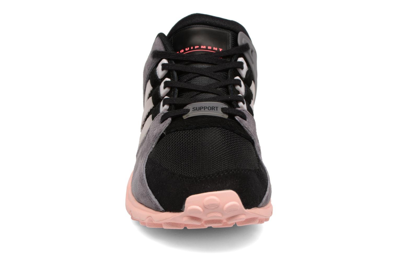 Deportivas Adidas Originals Eqt Support Rf W Negro vista del modelo