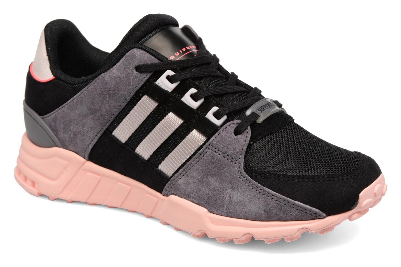 Deportivas Adidas Originals Eqt Support Rf W Negro vista de detalle / par