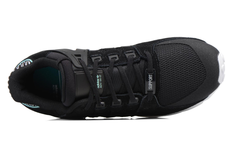 Baskets Adidas Originals Eqt Support Rf W Noir vue gauche