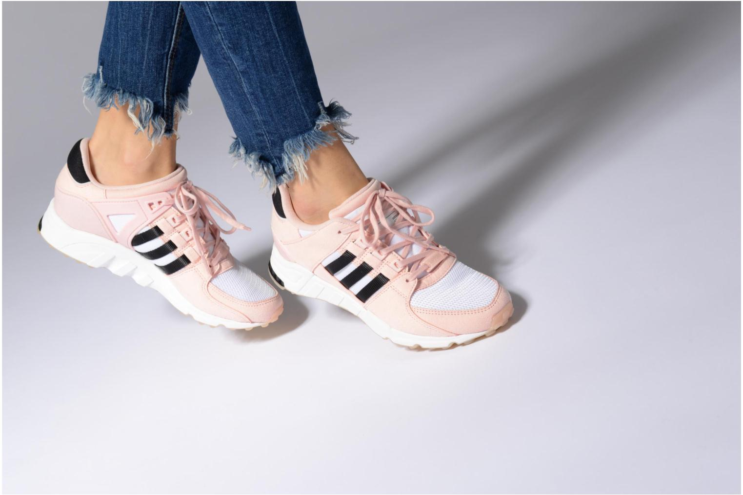 Baskets Adidas Originals Eqt Support Rf W Rose vue bas / vue portée sac