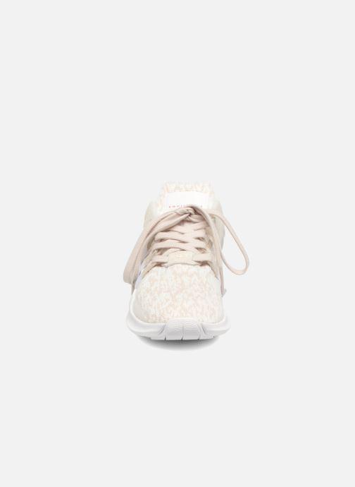 Sneaker adidas originals Equipment Support Adv W weiß schuhe getragen