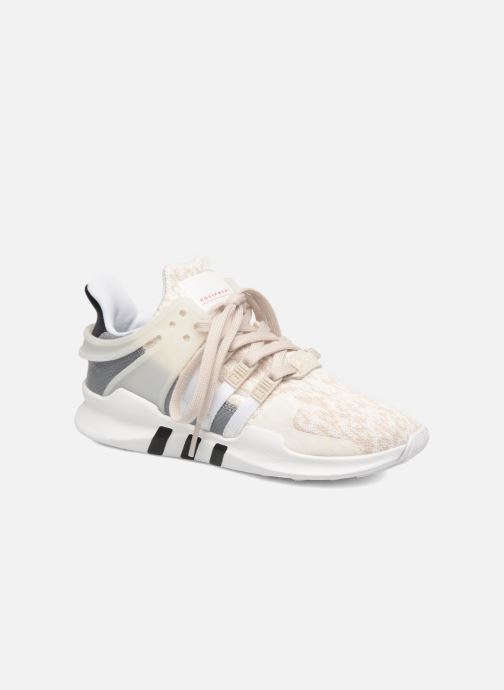 Deportivas adidas originals Equipment Support Adv W Blanco vista de detalle / par