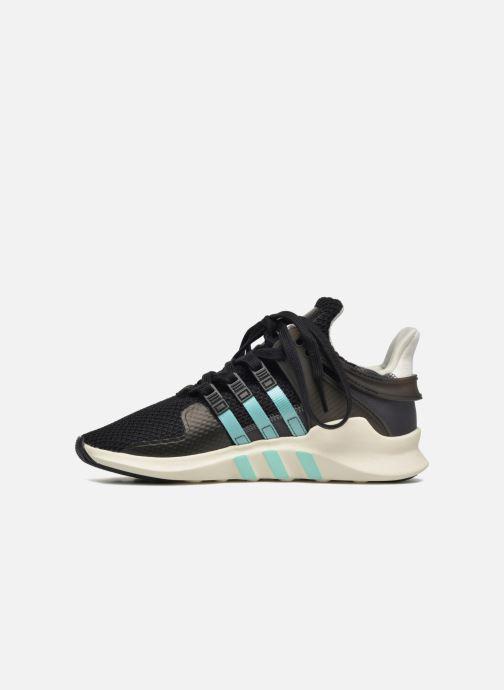 Sneaker adidas originals Equipment Support Adv W schwarz ansicht von vorne