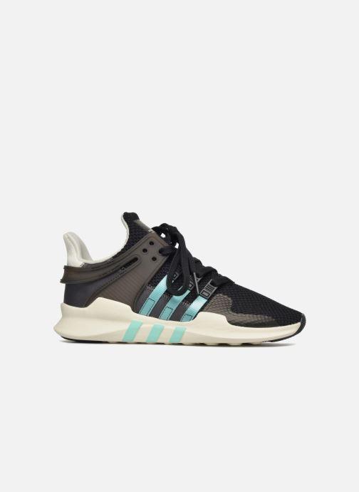 Sneaker adidas originals Equipment Support Adv W schwarz ansicht von hinten