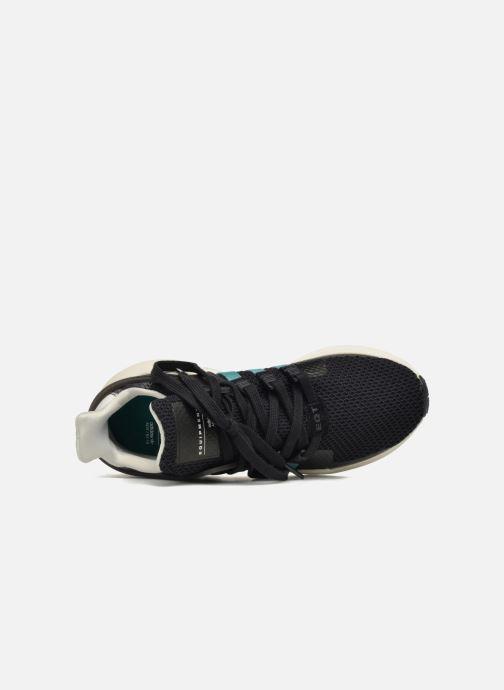Sneaker adidas originals Equipment Support Adv W schwarz ansicht von links