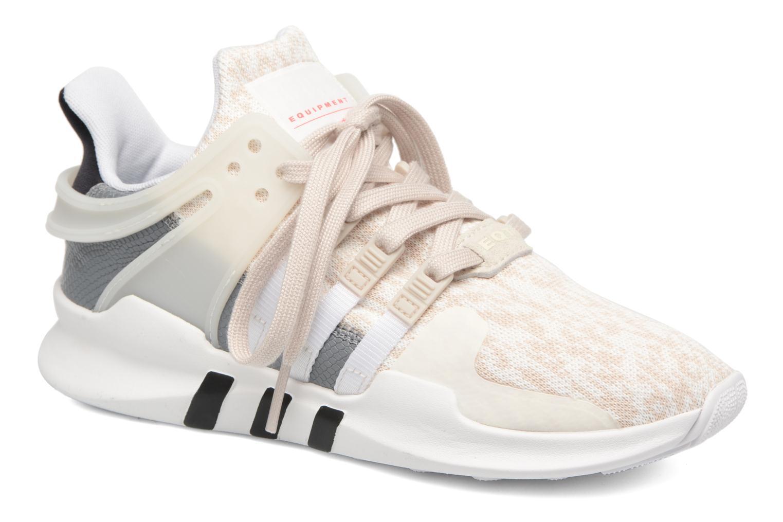 newest 674e7 b0eb6 ... eqt support rf originals løbesko 71d42 966a7 denmark sneakers adidas  originals equipment support adv w hvid detaljeret billede af skoene 8af60  9e9b2
