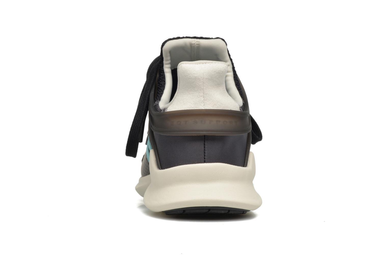 Baskets Adidas Originals Equipment Support Adv W Noir vue droite