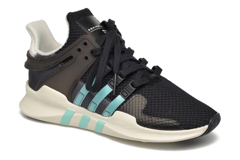 Baskets Adidas Originals Equipment Support Adv W Noir vue détail/paire
