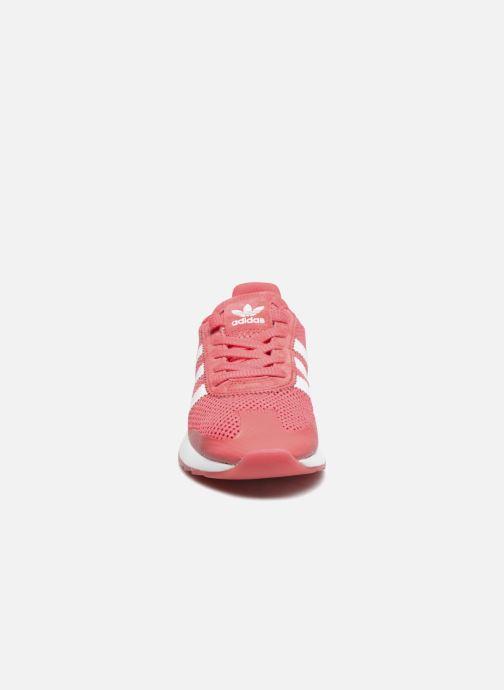 Baskets adidas originals Flb W Rouge vue portées chaussures