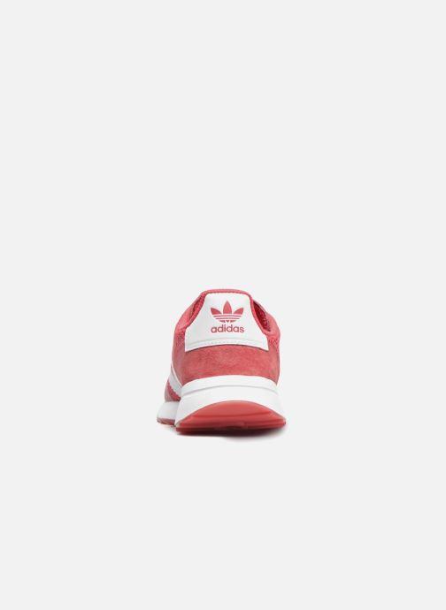 Sneakers adidas originals Flb W Rood rechts