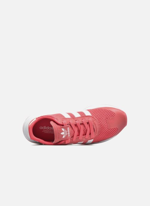 Baskets adidas originals Flb W Rouge vue haut