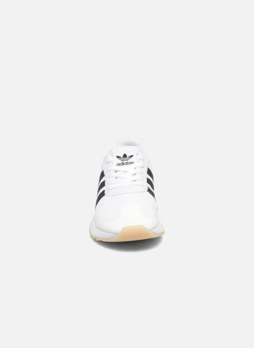 Sneaker Adidas Originals Flb W schwarz schuhe getragen