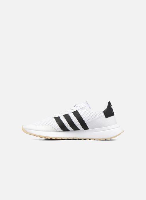 Sneaker adidas originals Flb W schwarz ansicht von vorne