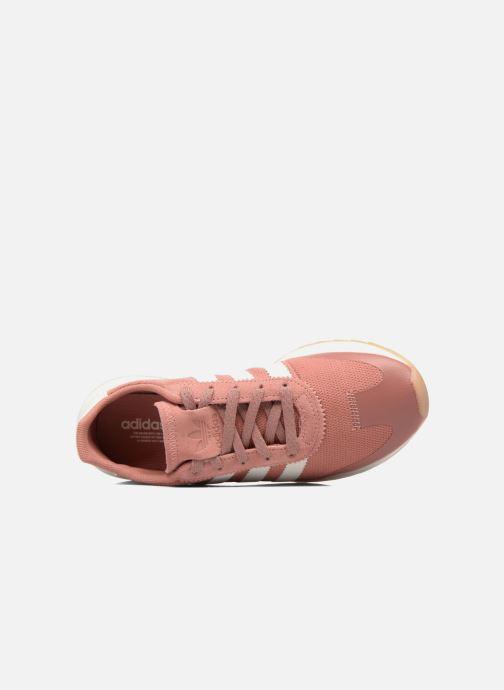 Sneaker Adidas Originals Flb W rosa ansicht von links