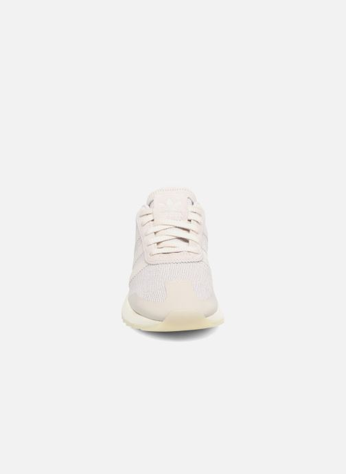 Baskets adidas originals Flb W Gris vue portées chaussures