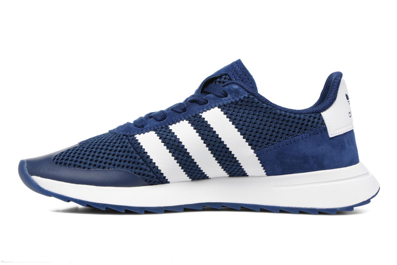 Deportivas Adidas Originals Flb W Azul vista de frente