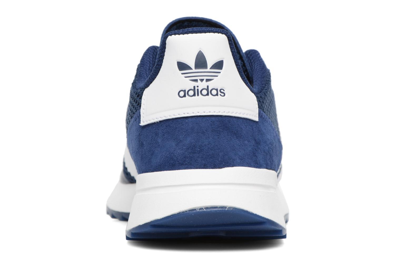 Deportivas Adidas Originals Flb W Azul vista lateral derecha