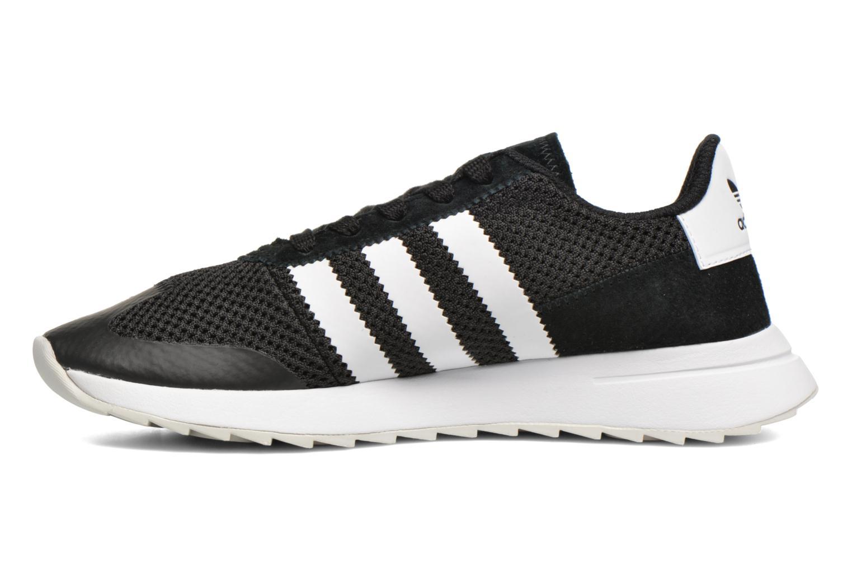 Deportivas Adidas Originals Flb W Negro vista de frente
