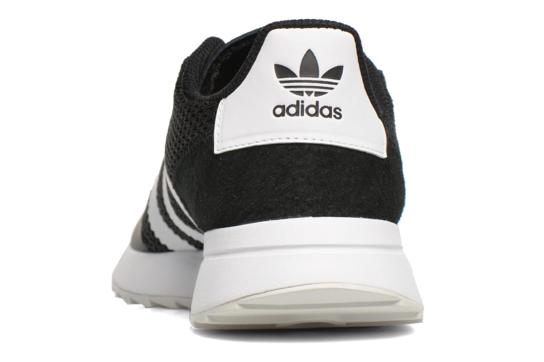 Deportivas Adidas Originals Flb W Negro vista lateral derecha