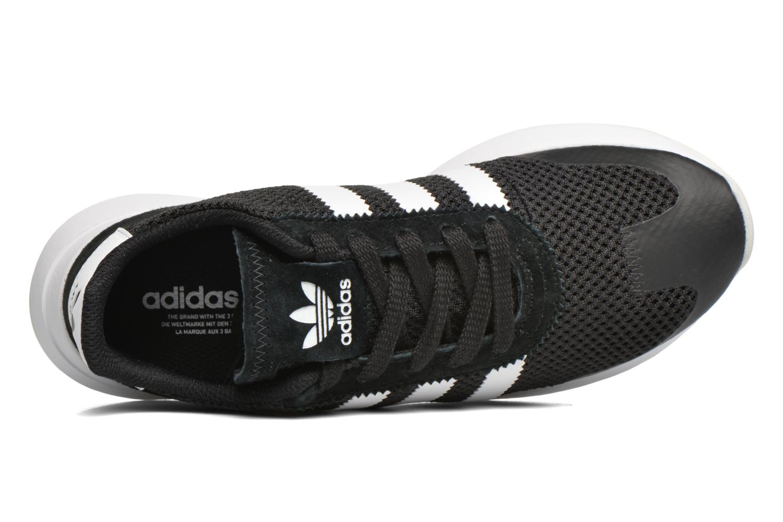 Baskets Adidas Originals Flb W Noir vue gauche