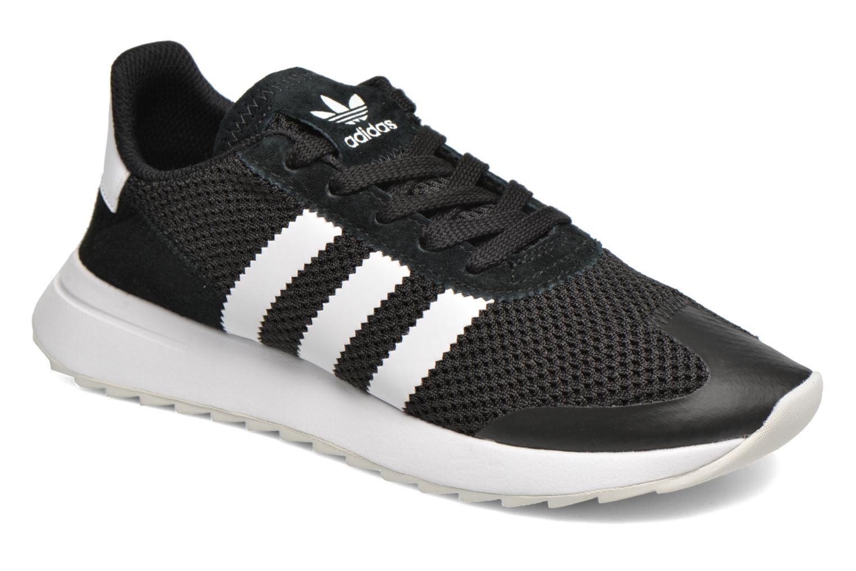 Deportivas Adidas Originals Flb W Negro vista de detalle / par