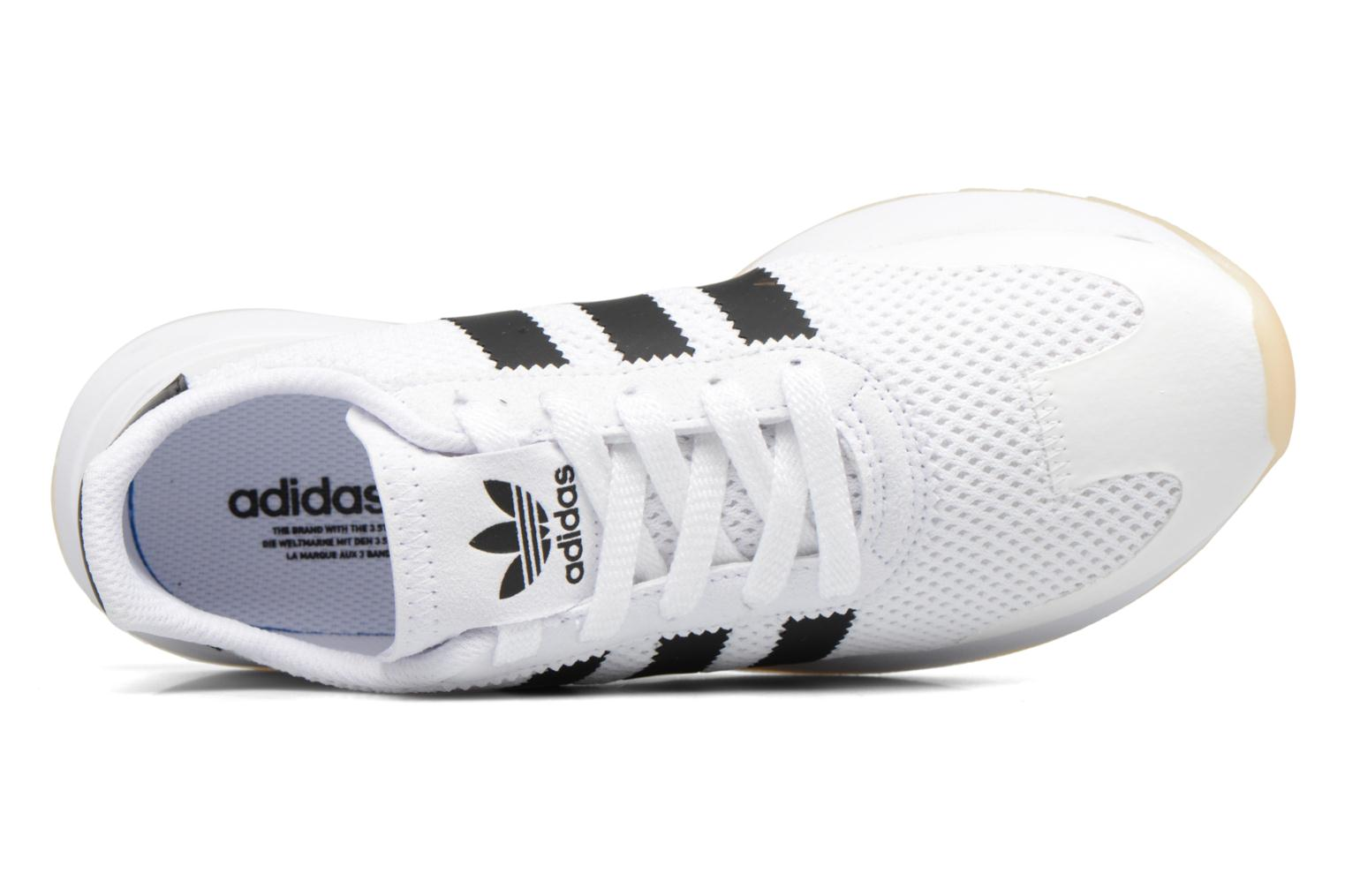 Trainers Adidas Originals Flb W Black view from the left