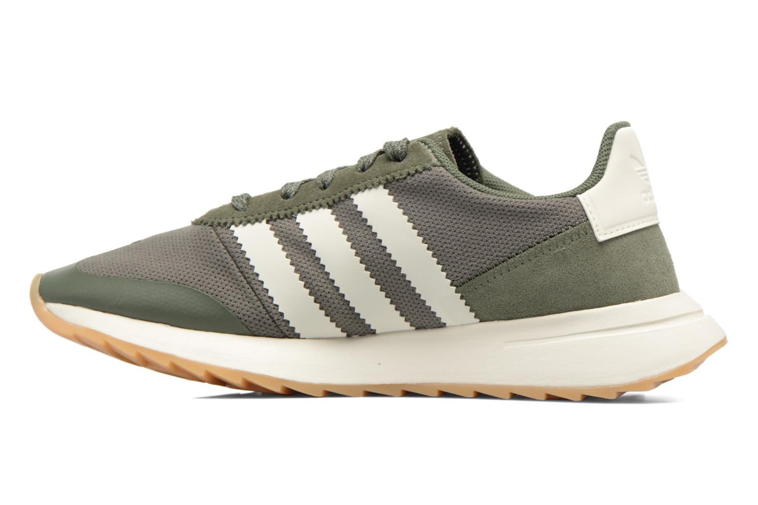 Baskets Adidas Originals Flb W Vert vue face