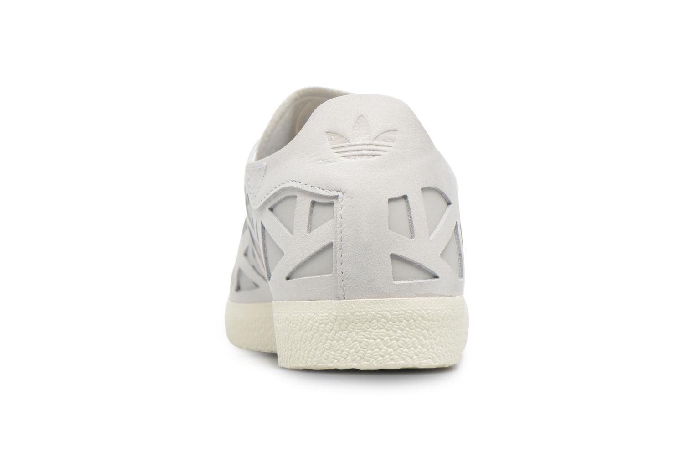 Baskets Adidas Originals Gazelle Cutout W Gris vue droite