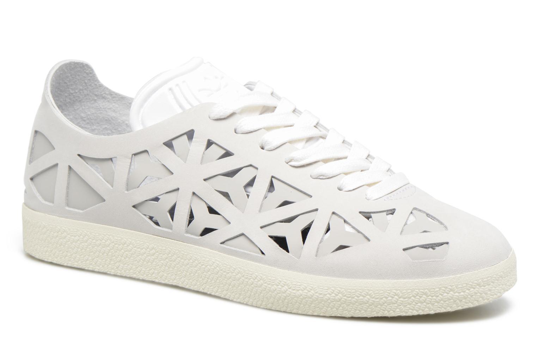 Baskets Adidas Originals Gazelle Cutout W Gris vue détail/paire