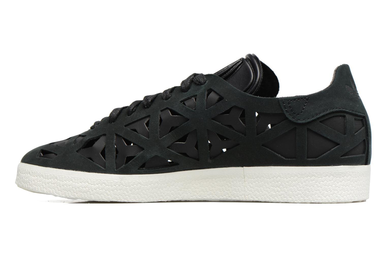 Sneaker Adidas Originals Gazelle Cutout W schwarz ansicht von vorne