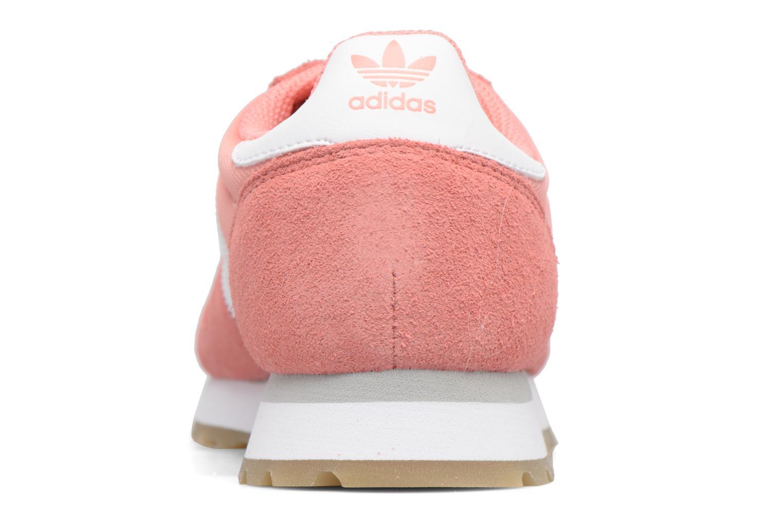 Deportivas Adidas Originals Haven W Rosa vista lateral derecha