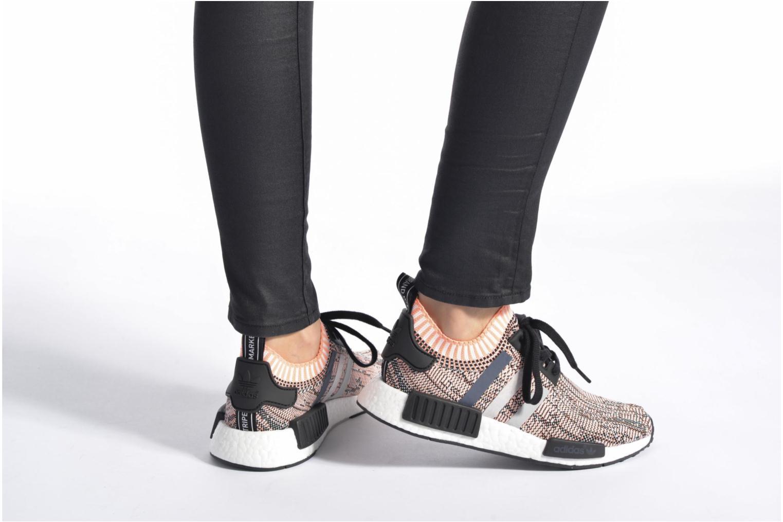 Baskets Adidas Originals Nmd_R1 Pk W Rose vue bas / vue portée sac