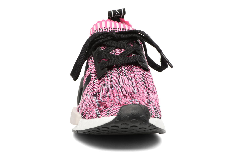 Baskets Adidas Originals Nmd_R1 Pk W Rose vue portées chaussures