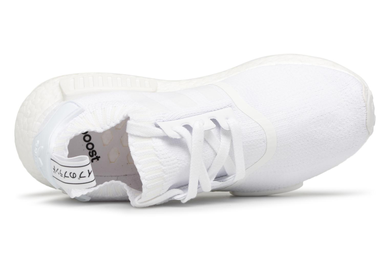 Sneaker Adidas Originals Nmd_R1 Pk W weiß ansicht von links