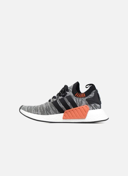 Trainers adidas originals Nmd_R2 Pk Black front view