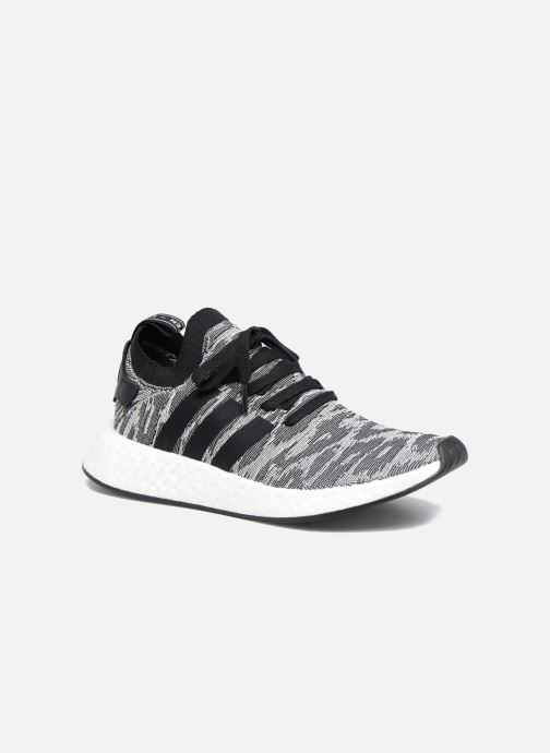 Trainers adidas originals Nmd_R2 Pk Black detailed view/ Pair view