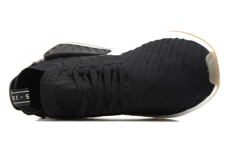 Baskets Adidas Originals Nmd_R2 Pk Noir vue gauche