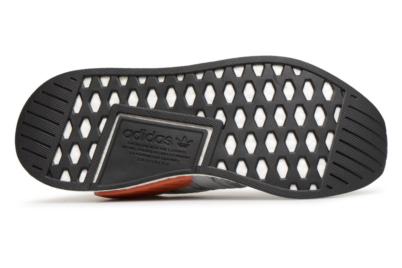 Baskets Adidas Originals Nmd_R2 Pk Gris vue haut